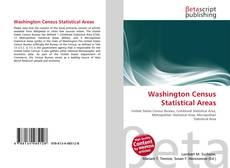 Washington Census Statistical Areas kitap kapağı