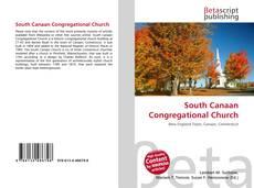 Обложка South Canaan Congregational Church