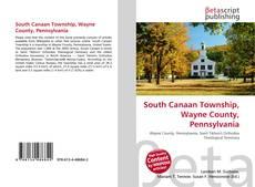 Bookcover of South Canaan Township, Wayne County, Pennsylvania