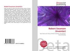 Capa do livro de Robert Swanson (Inventor)