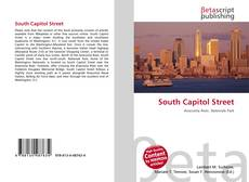 Bookcover of South Capitol Street