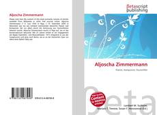 Bookcover of Aljoscha Zimmermann