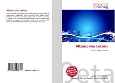 Buchcover von Alkaios von Lesbos