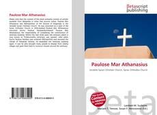 Bookcover of Paulose Mar Athanasius
