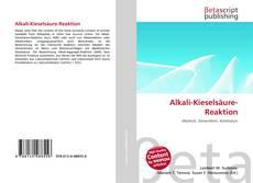 Bookcover of Alkali-Kieselsäure-Reaktion