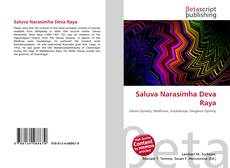 Saluva Narasimha Deva Raya的封面