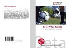 Capa do livro de Paulo Vitor Barreto