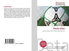 Capa do livro de Paulo Vitor