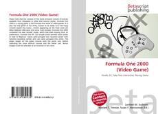 Capa do livro de Formula One 2000 (Video Game)