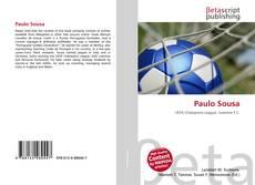 Capa do livro de Paulo Sousa