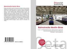 Bookcover of Bahnstrecke Hevlín–Brno