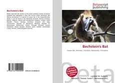 Bookcover of Bechstein's Bat