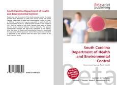 Bookcover of South Carolina Department of Health and Environmental Control