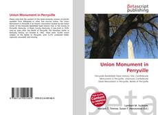 Bookcover of Union Monument in Perryville
