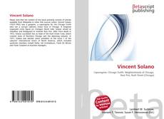 Buchcover von Vincent Solano