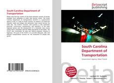 South Carolina Department of Transportation kitap kapağı