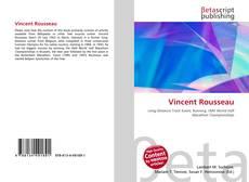 Vincent Rousseau kitap kapağı