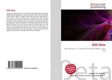 Bookcover of Old One