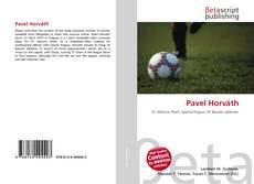 Pavel Horváth kitap kapağı