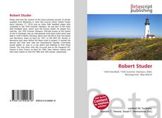Portada del libro de Robert Studer