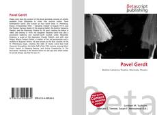 Bookcover of Pavel Gerdt