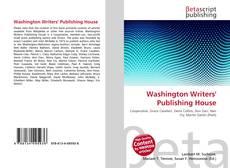 Borítókép a  Washington Writers' Publishing House - hoz