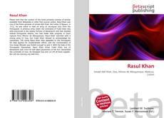 Rasul Khan kitap kapağı