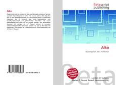 Buchcover von Alko