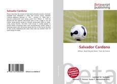 Capa do livro de Salvador Cardona