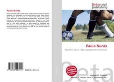 Capa do livro de Paulo Nunes