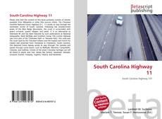 Bookcover of South Carolina Highway 11