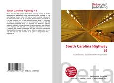 Bookcover of South Carolina Highway 14