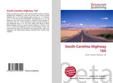 Bookcover of South Carolina Highway 165