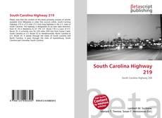Bookcover of South Carolina Highway 219