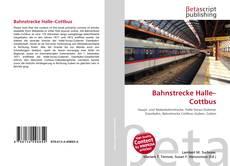 Bahnstrecke Halle–Cottbus的封面