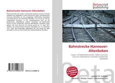 Buchcover von Bahnstrecke Hannover-Altenbeken