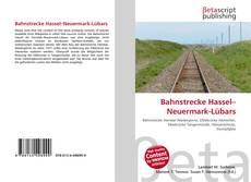 Portada del libro de Bahnstrecke Hassel–Neuermark-Lübars