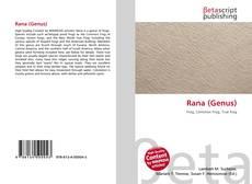Capa do livro de Rana (Genus)