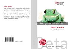 Bookcover of Rana Aurata