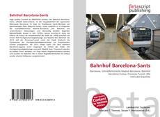 Bookcover of Bahnhof Barcelona-Sants
