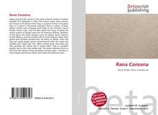 Bookcover of Rana Coreana