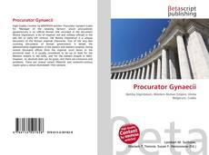 Borítókép a  Procurator Gynaecii - hoz