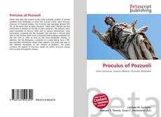 Proculus of Pozzuoli kitap kapağı