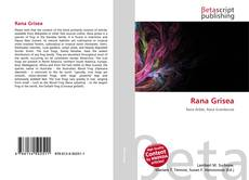 Bookcover of Rana Grisea