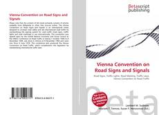 Copertina di Vienna Convention on Road Signs and Signals