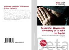 Portada del libro de Patriarchal Stavropegic Monastery of St. John the Baptist