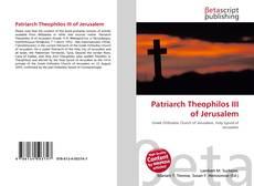 Buchcover von Patriarch Theophilos III of Jerusalem