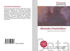 Capa do livro de Alexander Chartschikow