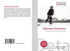 Обложка Alexander Chawanow