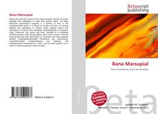 Bookcover of Rana Marsupial